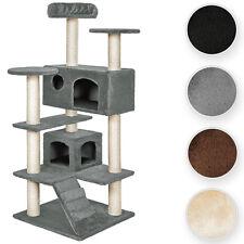 Arbre à chat 131cm Micki Griffoir, Grattoir, tronc de sisal, maisonette, niche