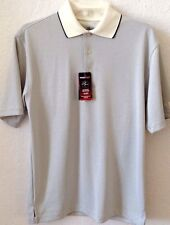 Men's SMALL Beige Shirt GRAND SLAM Dri-Fit S/S 100% Polyester Wicking GOLF NWT