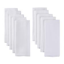 Gerber Baby 10 Pack Organic Prefold Cotton Birdseye Cloth Diaper with Pad