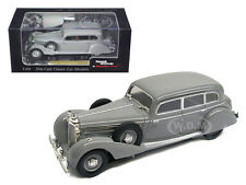 1938 MERCEDES 770K SEDAN PULLMAN GREY 1/43 MODEL CAR BY SIGNATURE MODELS 43701