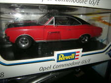 1:18 Revell Opel Commodore GS/E rot-schwarz/red-black in OVP
