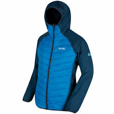 Regatta Andreson II Hybrid Jacket Mens Lightly Quilted Extol Stretch Hooded
