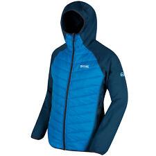 Regatta Men's Andreson II Hybrid Water Repellent Insulated Jacket Coat Hooded L Majolic