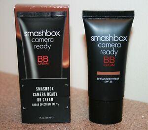 Smashbox Camera Ready BB Face Cream SPF 35 DARK 1oz /30mL Full Size discontinued