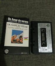 CASSETTE UN AMOR DE VERANO - SUMMER LOVERS  OST BSO - DEPECHE MODE - TINA TURNER