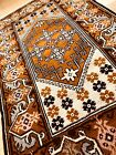 """2'11""""x 4'10"""" Antique Hand-knotted Turkish wool Milas  rug"""