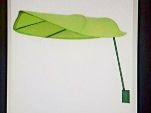 IKEA Lova New Green Leaf Childrens Kids Bed Canopy Tent Decor Factory Sealed