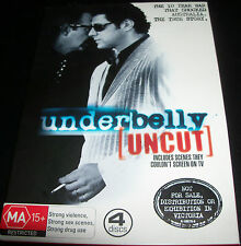 Underbelly Uncut The First Series1 (Australian Region 4) DVD