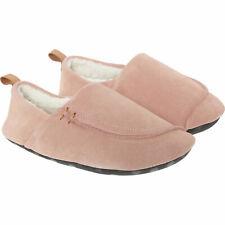 CLARKS Women's Maven Mia Light Pink Suede LEATHER Slippers Sz: uk4/eu37, new
