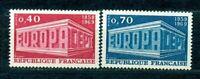 TIMBRES DE FRANCE ANNEE 1969  EUROPA  Y.V. N° 1598 / 1599  NEUFS  SANS CHARNIERE