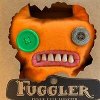 "9"" Fuggler Indecisive Monster Orange Brand New In Box With Certificate Series 1"