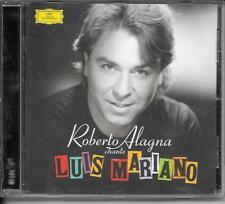 CD ALBUM 13 TITRES--ROBERTO ALAGNA--ROBERTO CHANTE LUIS MARIANO--2005