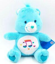 "Care Bear Heartsong Bear 9""  Plush Blue Music Symbol Stuffed Animal Toy 2006"