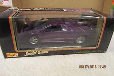 Maisto 1995 Lamborghini Jota Deep Pueple   1:18 Scale  Nice!!!