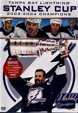 BRAND NEW DVD // NHL Stanley Cup Champions 2004  // Tampa Bay Lightning //