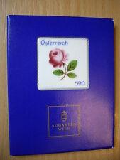 Augarten Porzellan-Marke Österreich Block 2014 pf**mit Folder siehe Bild >