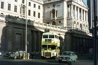 London Transport RM1737 at Bank 1970 Bus Photo