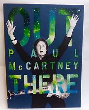 Where? OUT THERE TOUR 2013 3D PROGRAM * Paul McCartney / souvenir of QUEBEC CITY
