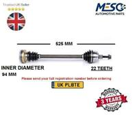 DRIVE SHAFT FITS FOR VW LUPO POLO SCIROCCO 1.0 1.4 1.7 1.8 1.9 1982-2005 LEFT