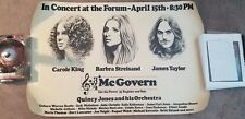 BARBRA STREISAND JAMES TAYLOR  KING MCGOVERN BEATTY NICHOLSON  CONCERT POSTER