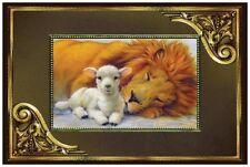 20 CHRISTMAS Lion LAMB PEACE Love Joy Greeting 6X4 POSTCARDS