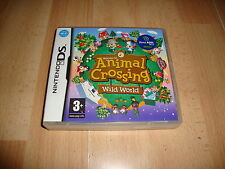 ANIMAL CROSSING WILD WORLD NTR-ADMP-EAP PARA LA NINTENDO DS USADO COMPLETO