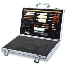 74pcs Universal Gun Cleaning Kit Rifle Pistol Handgun Shotgun Firearm Cleaner US