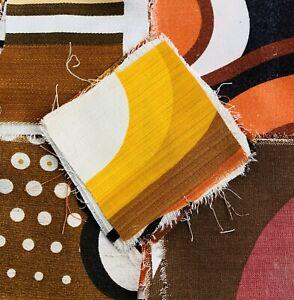 25 Vintage 1970s  Cotton  Patchwork  Pieces / Craft/ Quilting # 9