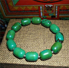 turquoise blue tibetan green prayer beads natural bracelet mala genuine chinese