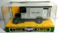 CORGI CLASSIC MODELS 1:43 THORNYCROFT VAN ASDA 25TH BIRTHDAY 1965-1990 - D859/16