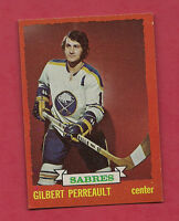1973-74 TOPPS # 70 SABRES GILBERT PERREAULT  CARD