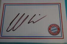 Gerd Muller Bayern Munich firmó tarjeta blanca