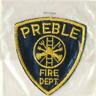 """Preble Fire Department IN Indiana 3"""" Patch"""