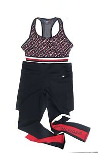 Tommy Hilfiger Leggings And Top Set          (Size L) RRP £110