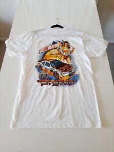 Hooters Pit Stop T Shirt Campbelltown Australia White Men's Large Graphic Logo