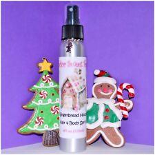GINGERBREAD HOUSE Scented Handmade Body Splash Hair Perfume Spray 4oz