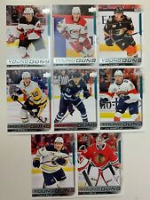 18-19 Upper Deck SP Authentic Young Guns Update Complete Set 512-519