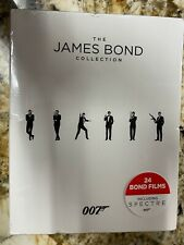 The James Bond Collection  *Brand New Sealed*  (Blu-ray Disc, 2016, 24-Disc Set)