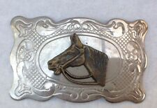 Cowboy Western Belt Buckle Style Plaque Display Vintage American Retro Classic