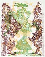 """""""dazwischen"""", 1982. Farbradierung Bernard SCHULTZE (1915-2005 D), handsigniert"""