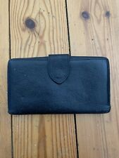 Mulberry Genuine Black Leather Wallet Purse