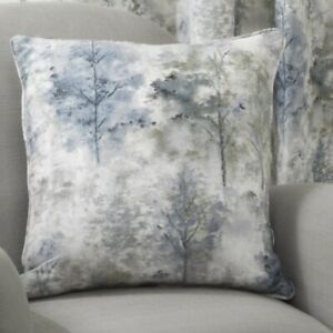 Woodland Blue Cushion Cover