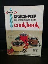 Rival Crock Pot 3300 3100 3101 3102 3103 Cookbook Vintage C5