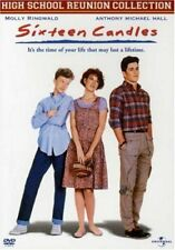 Sixteen Candles (DVD 1984 MOVIE Molly Ringwald, Anthony Michael Hall 16 CANDLE'S