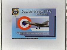 1/72 Phaedra Models DASSAULT MIRAGE III F-2 Prototype Jet Fighter *MINT*