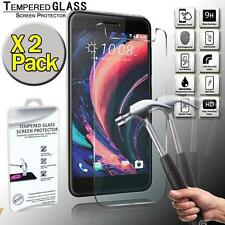 2 Pack Real Tempered Glass Screen Protector Cover For HTC One X10