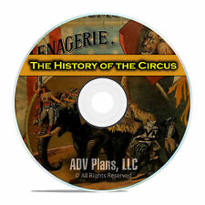 American Circus History, Ringling Brothers, Books, Photos, Brochures PDF DVD E65