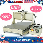 USB 4 Axis 1.5KW/2.2KW - VFD CNC 6090 Router Metal Drill Mill Engraving Machine