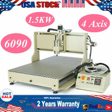 Usb 4 Axis 15kw22kw Vfd Cnc 6090 Router Metal Drill Mill Engraving Machine