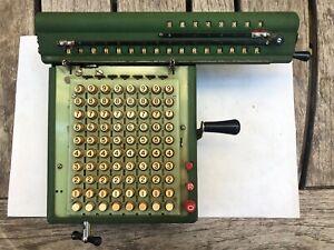 Antique MONROE Model L160X CALCULATOR -